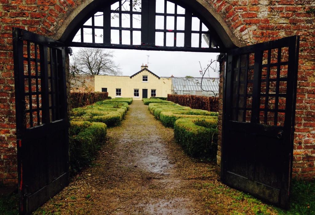 Walled Garden Cottage from Gate