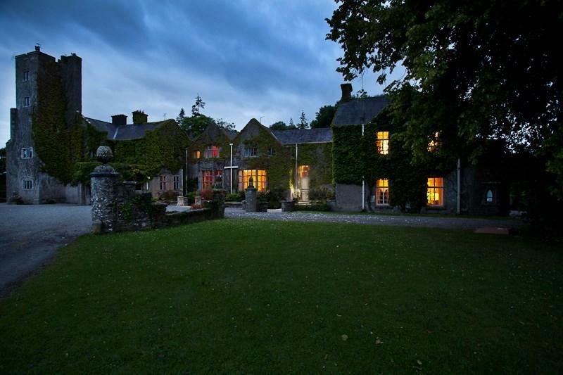 Belle Isle Castle at Night