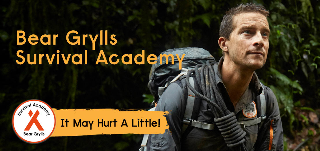 Bear Grylls Survival Academy launches at Belle Isle Castle and Private Island
