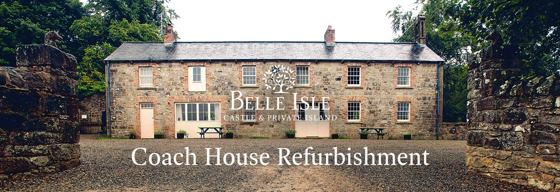 Belle Isle Estate's refurbished Coach Houses