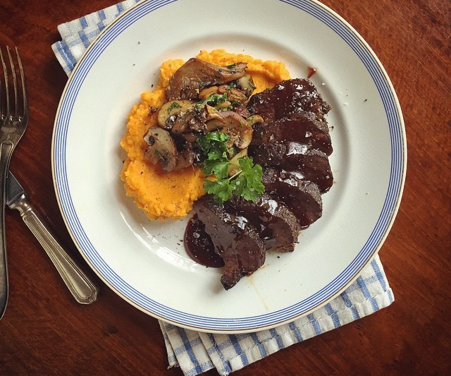 Subtly spiced Baronscourt venison