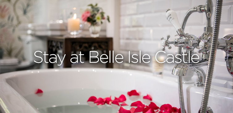 Stay at Belle Isle Castle