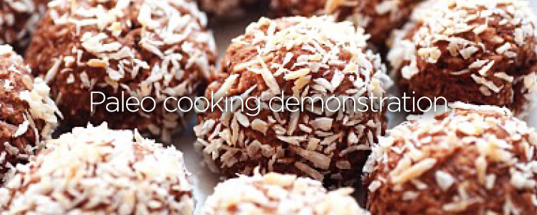 Paleo cooking demonstration
