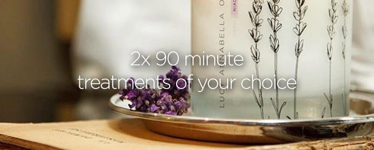 Two 90 minute treatments from Lucy Annabella