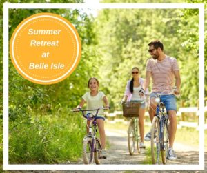 Summer Retreat Package - special offers at the Belle Isle Estate