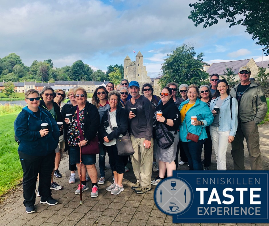 Enniskillen Taste Tour Massive Hit with Belle Isle Guest from the USA