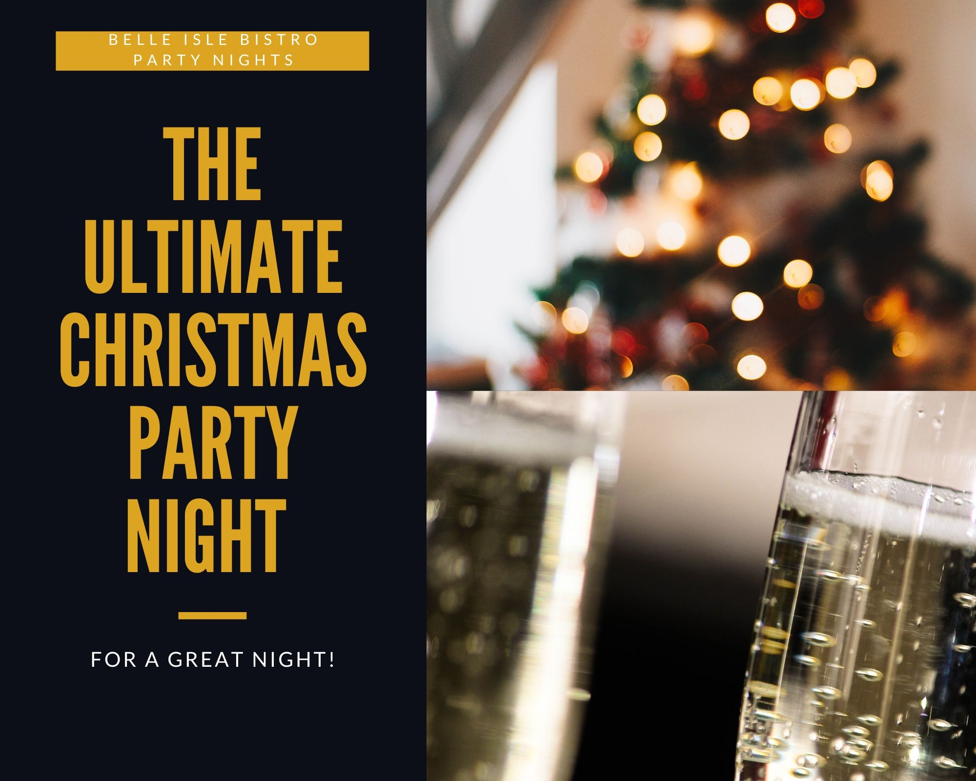 Christmas Party Nights At Belle Isle Bistro